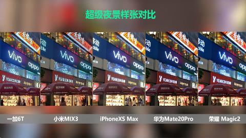 超级夜景大比拼:华为Mate20 Pro、小米MIX3、iPhone Xs Max相机实拍体验