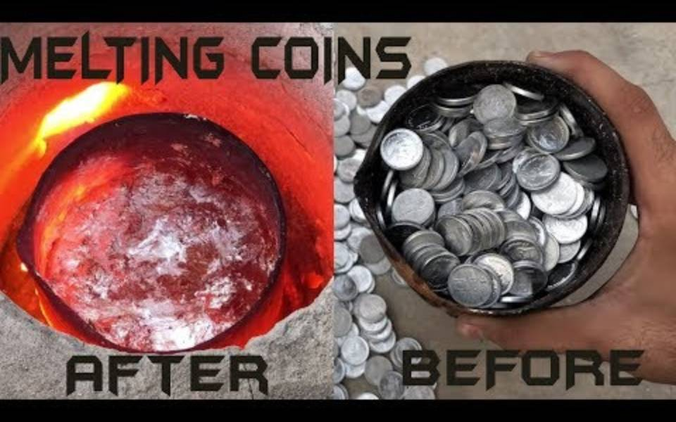 实验空间:把1000个硬币高温熔化