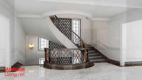 【Sketchup高级教程】如何创建旋转楼梯?