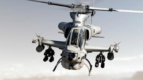 【武器排行榜2018】地球上最强的五款武装直升机,第一名使用贫铀弹头,号称坦克杀手