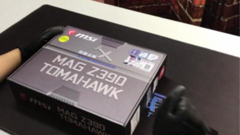【石小陶看20】微星Z390 TOMAHAWK 主板 ,开箱测评,战斧巡航导弹,你值得拥有。