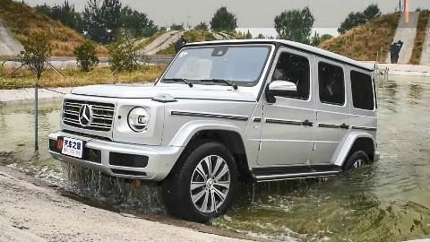 2019款奔驰G级 G 500 场地越野测试