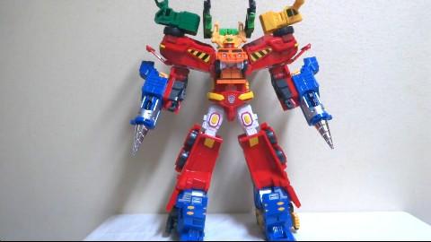 【转自油管】【超巨大!6体合体ロボ!】 ハイパービルディアン ハローカーボット ヲタファの世界の