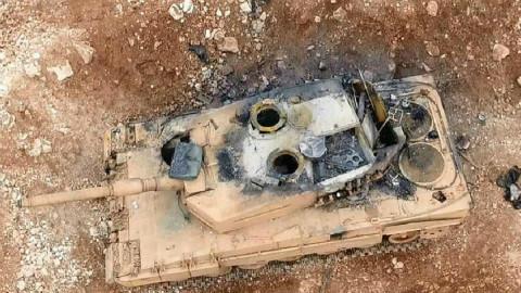现场实拍!库尔德武装2打5翻盘,土耳其精锐小队被全部击杀