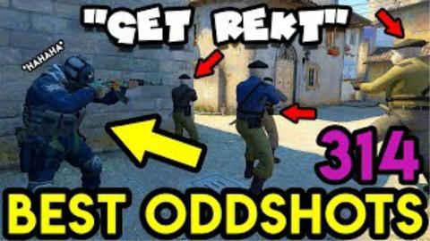【Counter Strike Proland】最佳神经枪#314 五人大战高智商老阴B|CS:GO