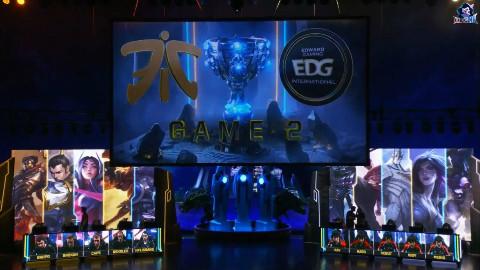 (LMS解说) 8强赛  EDG vs FNC