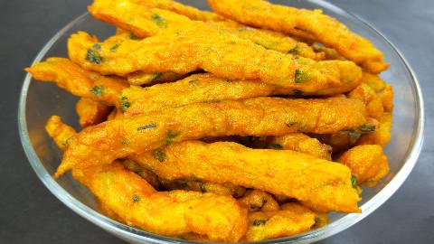 南瓜最好吃的做法,外脆里软,简单美味,30岁的我第一次吃,好香