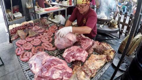阿根廷街头美食——资本主义烤肉