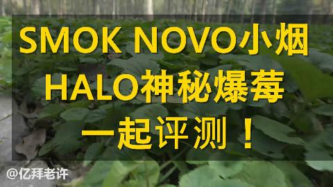 老许盐评第62期-SMOK NOVO小烟+HALO神秘爆莓评测BY亿拜老许