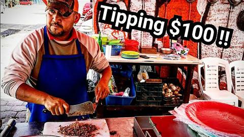墨西哥街头美食-肉卷