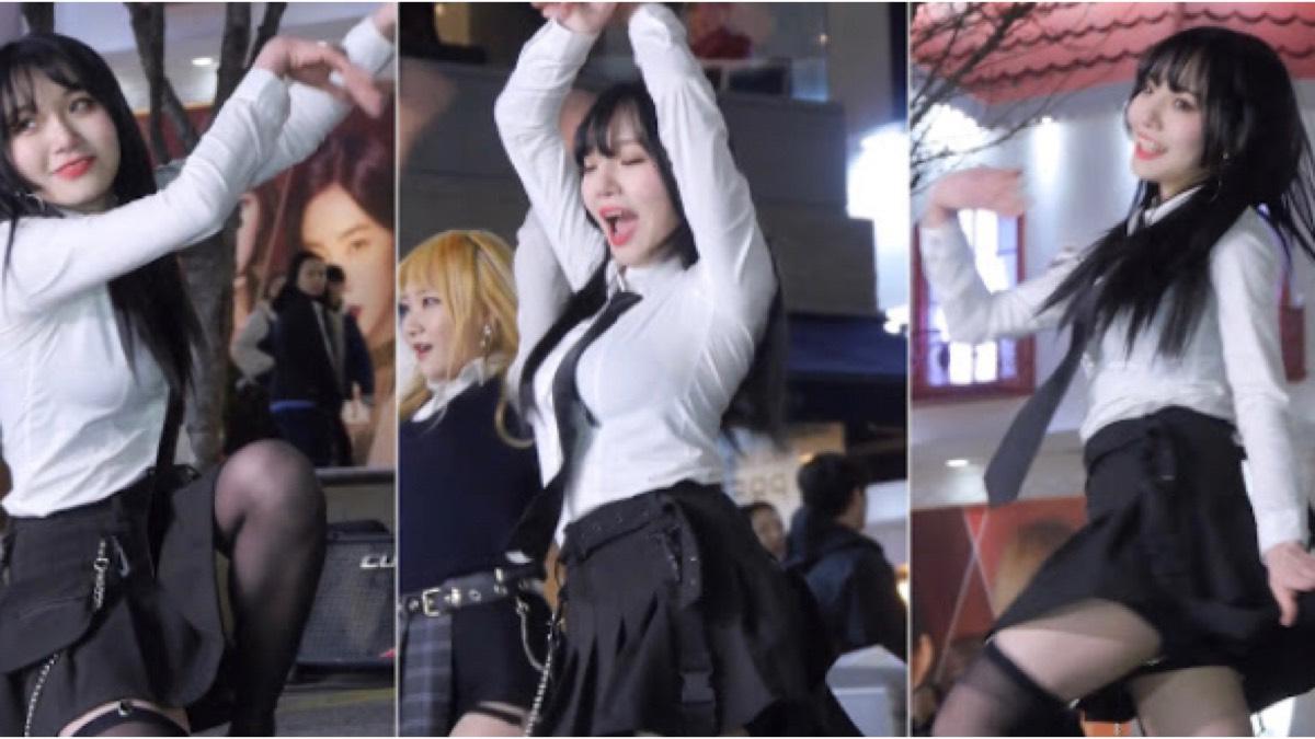 韩国广场舞,双人制服舞