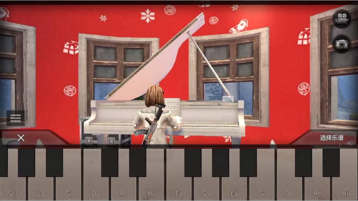 明日之后 钢琴 自制调子