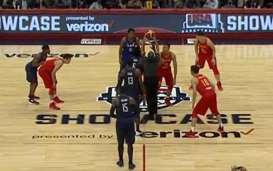 看了让人吐血三升的中美篮球大战