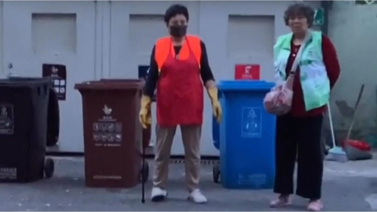 快被垃圾分类逼疯的上海居民-沙雕百科88期
