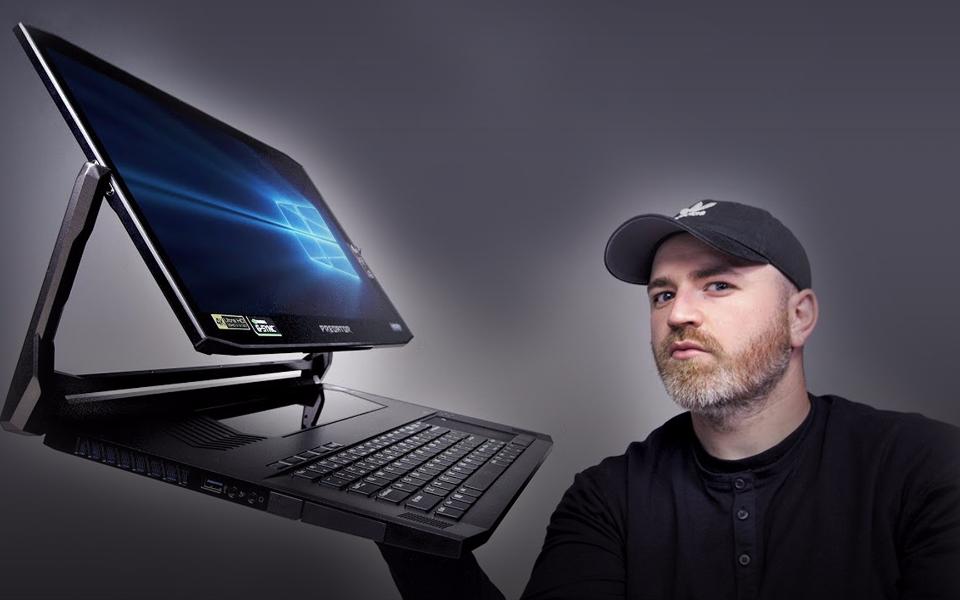 宏碁捕食者 Triton 900 开箱!最疯狂的笔记本电脑