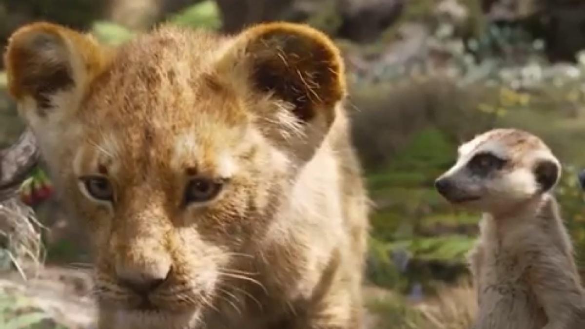 新《狮子王》预告片
