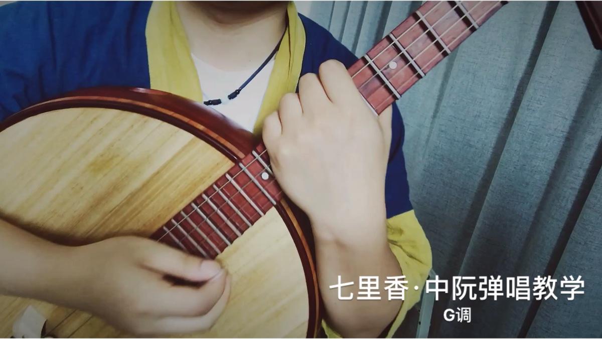 七里香·中阮弹唱教学视频