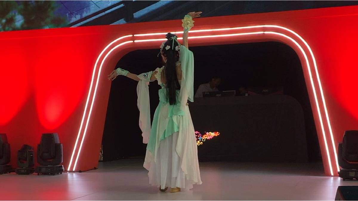 【紫颜】上海cj舞蹈
