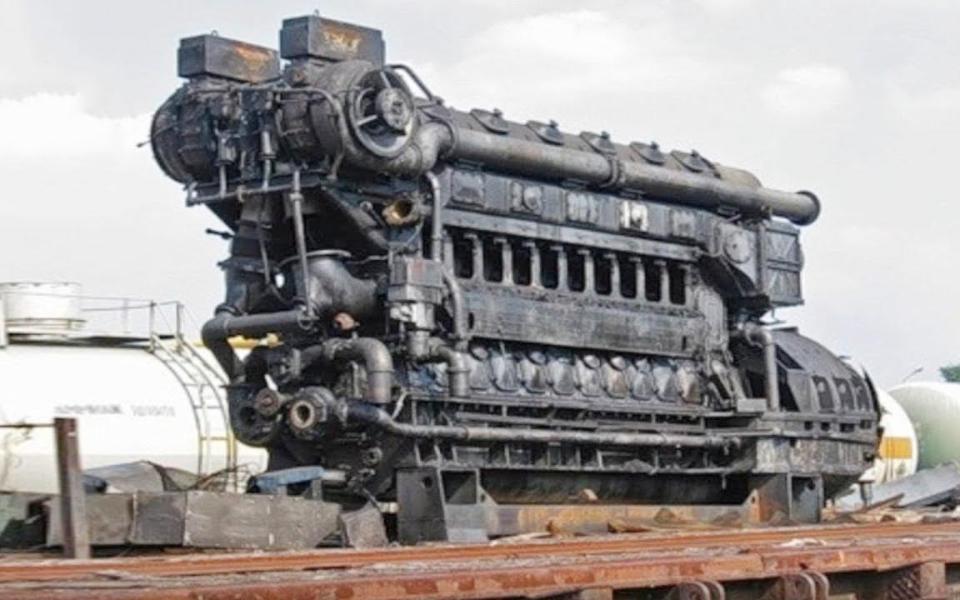 5台不可思议的发动机,第1台巨无霸高30米重2300吨