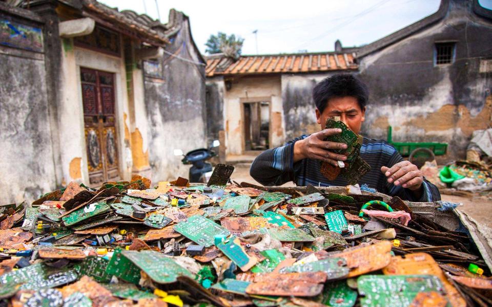 垃圾提炼出15吨黄金!创造22亿产值,这里却成全球最毒之地?