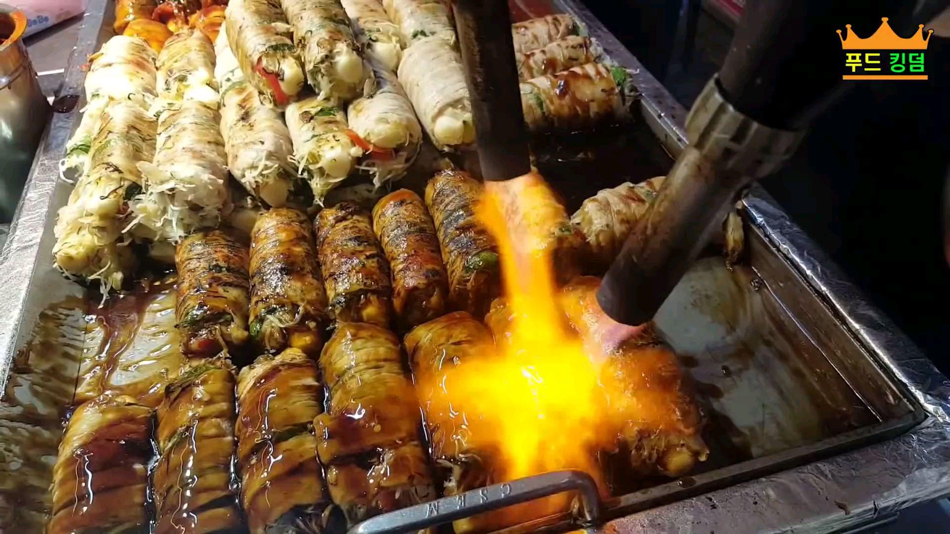 釜山代表性夜市   韩国街头小吃