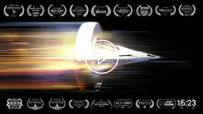 宇宙探险科幻短片「超光速飞行」