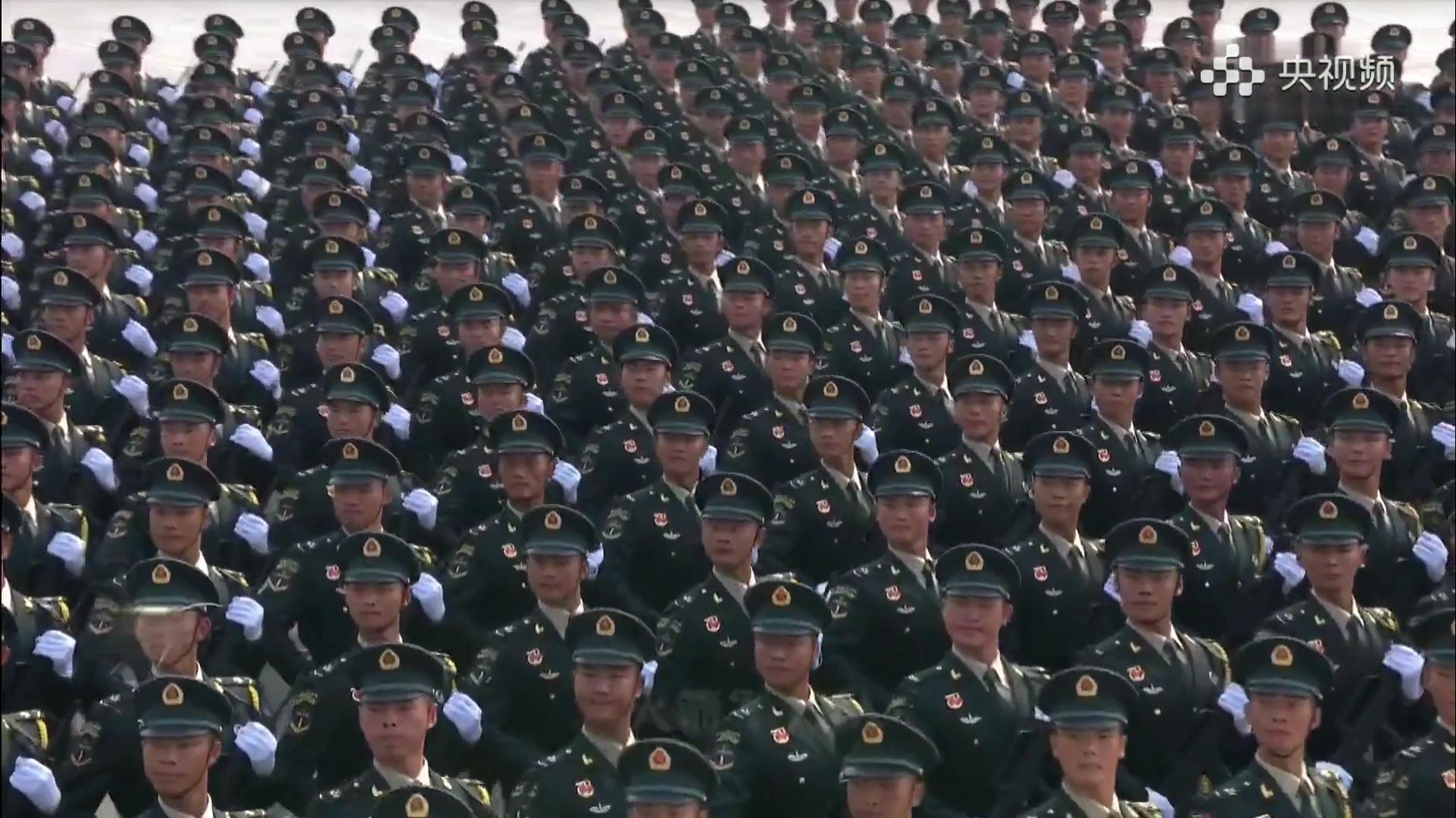 [1080P/极致踩点]来感受一下中国阅兵式的魅力吧!