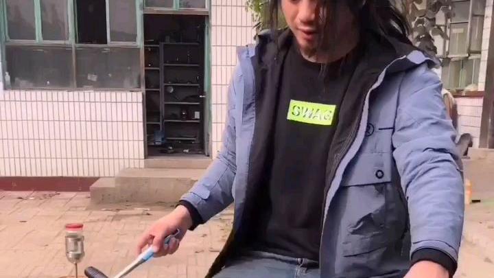 自制动感单车豆浆机