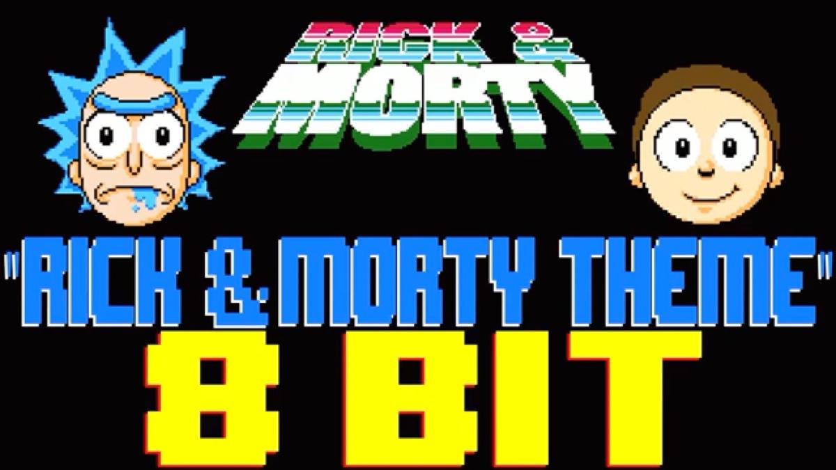 Rick and Morty Theme(8 bit风格)
