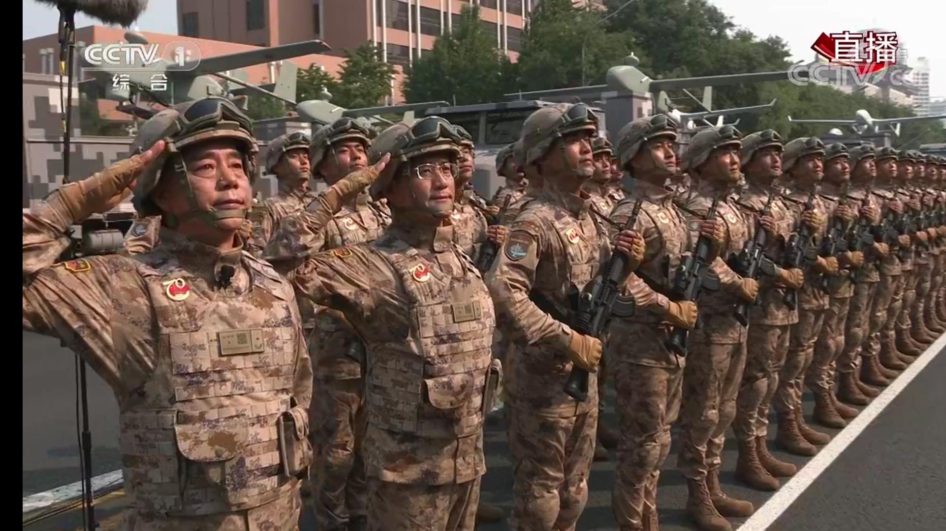 揭秘中国新迷彩以及新作战服