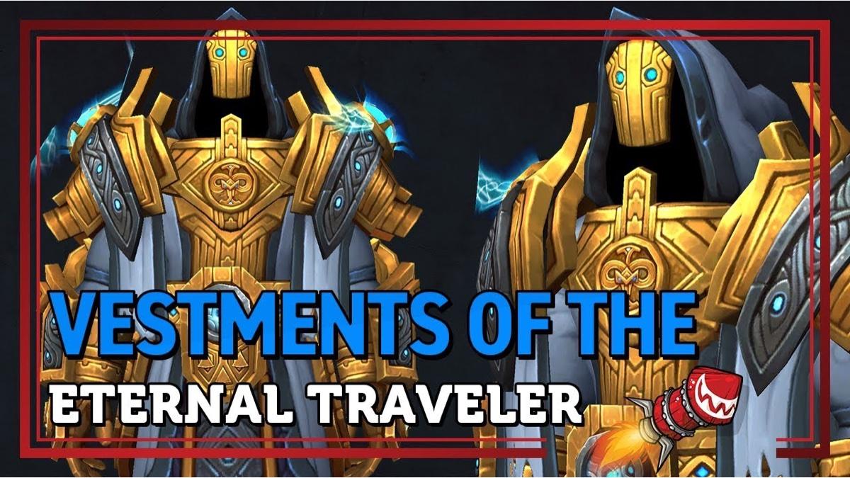 魔兽世界9.0暗影国度礼包-永恒旅者祭服套装