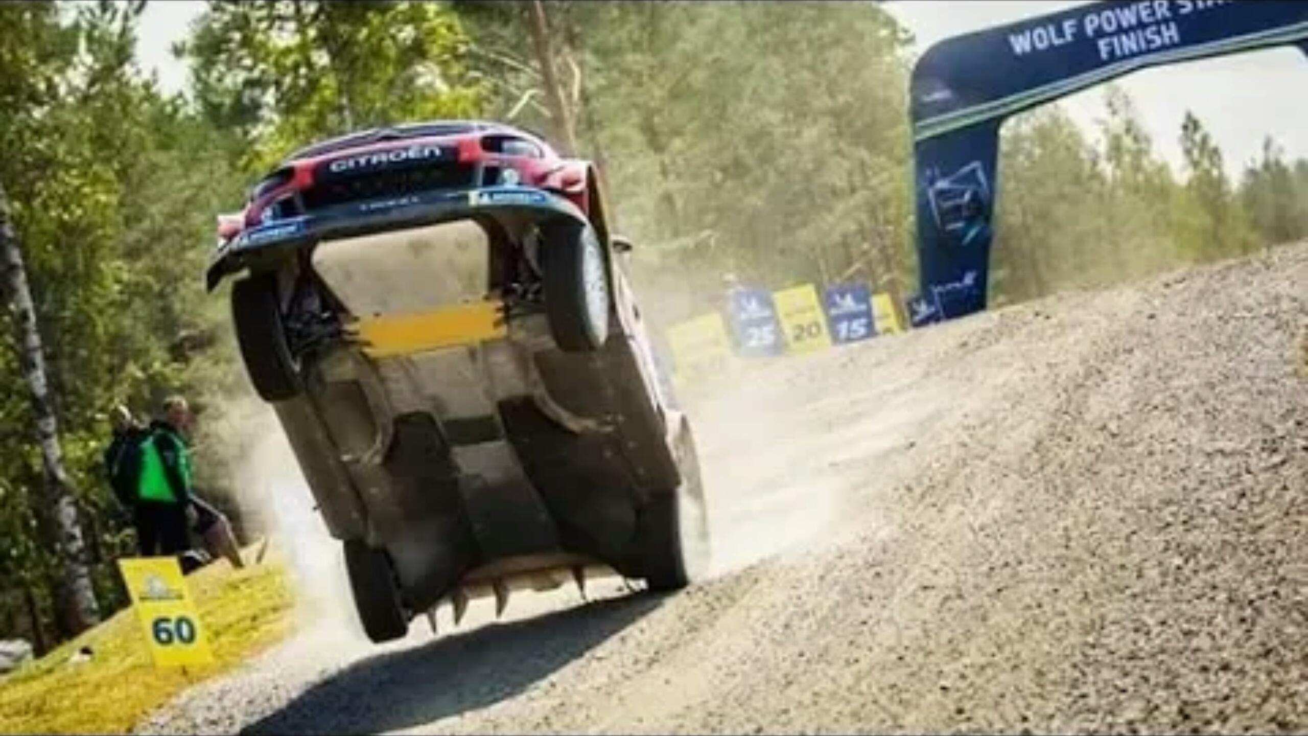 【前方高能】WRC-2019全年赛事碉堡合集