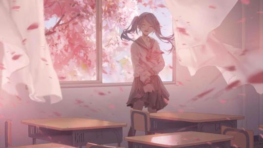 她笑的那个瞬间,全世界的花都开了