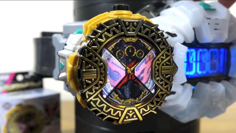 假面骑士ZI-O DX逢魔形态表盘 剧场版限定