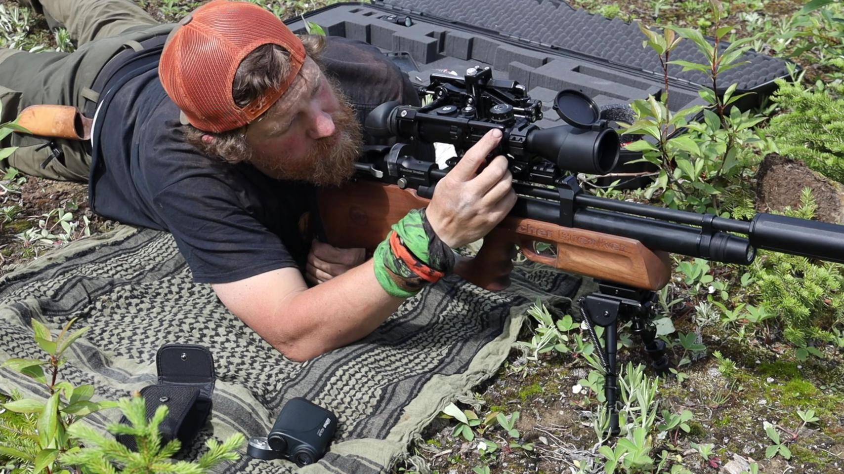气步枪猎杀地松鼠