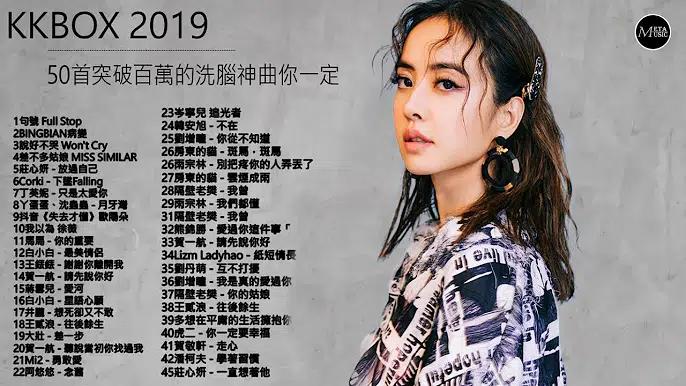 2019-12月 KKBOX華語單曲排行週榜