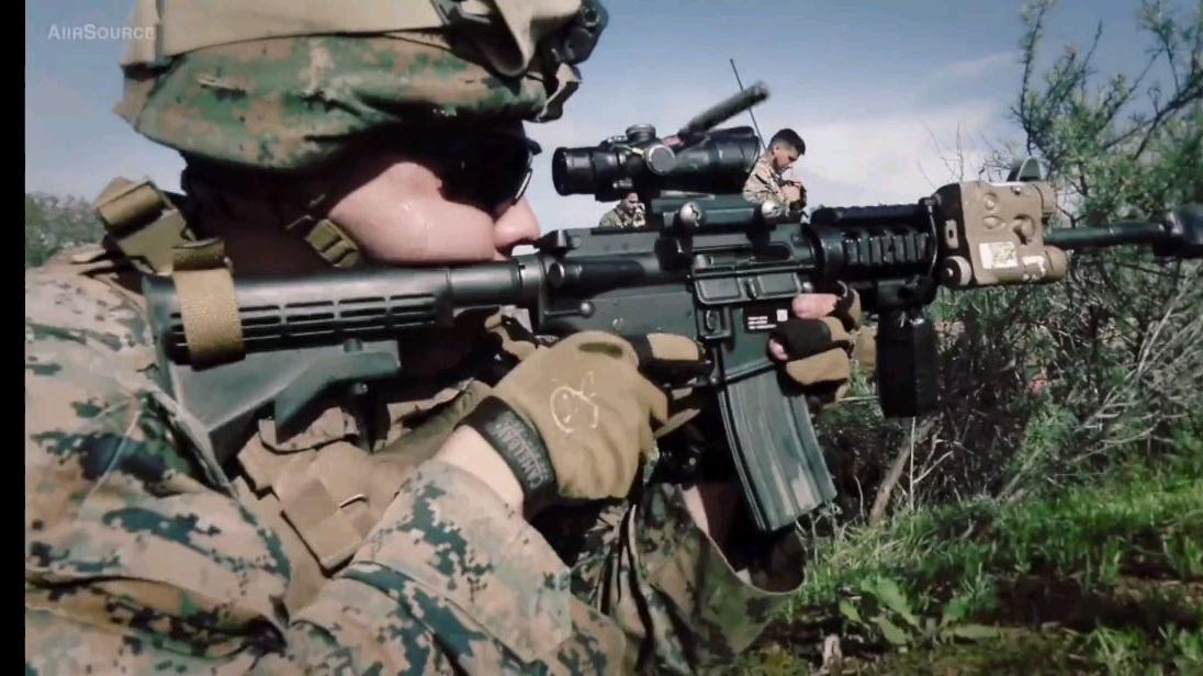 美国海军陆战队CQB训练