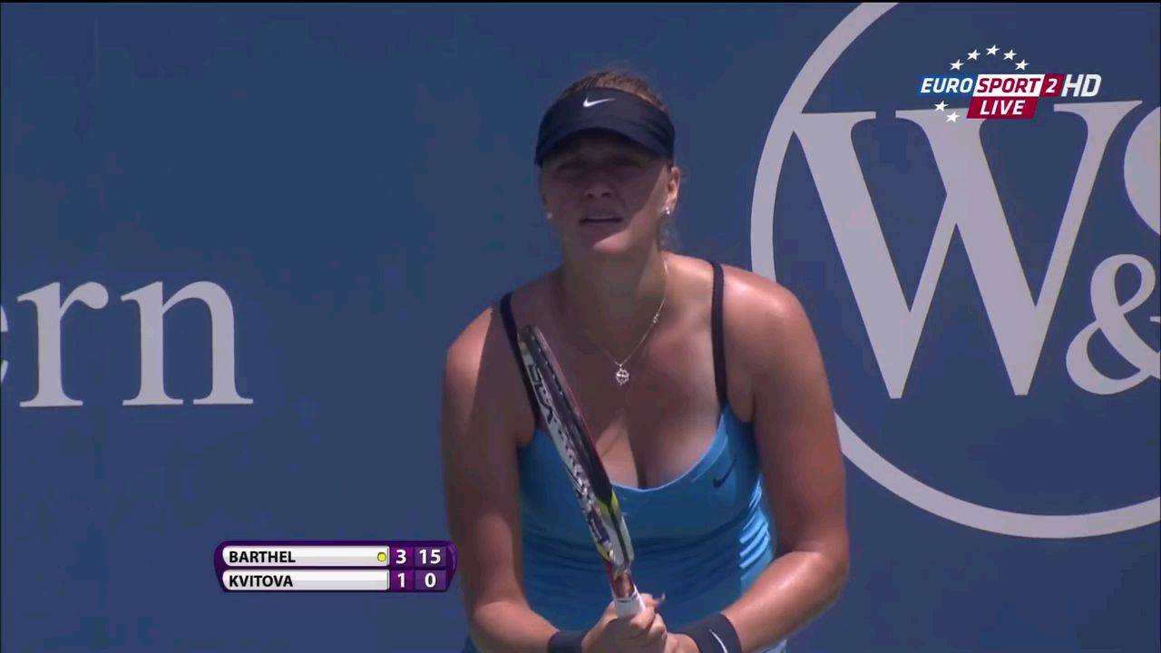 身材很好的女子网球选手