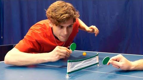 花式乒乓球,没想到居然可以这样玩
