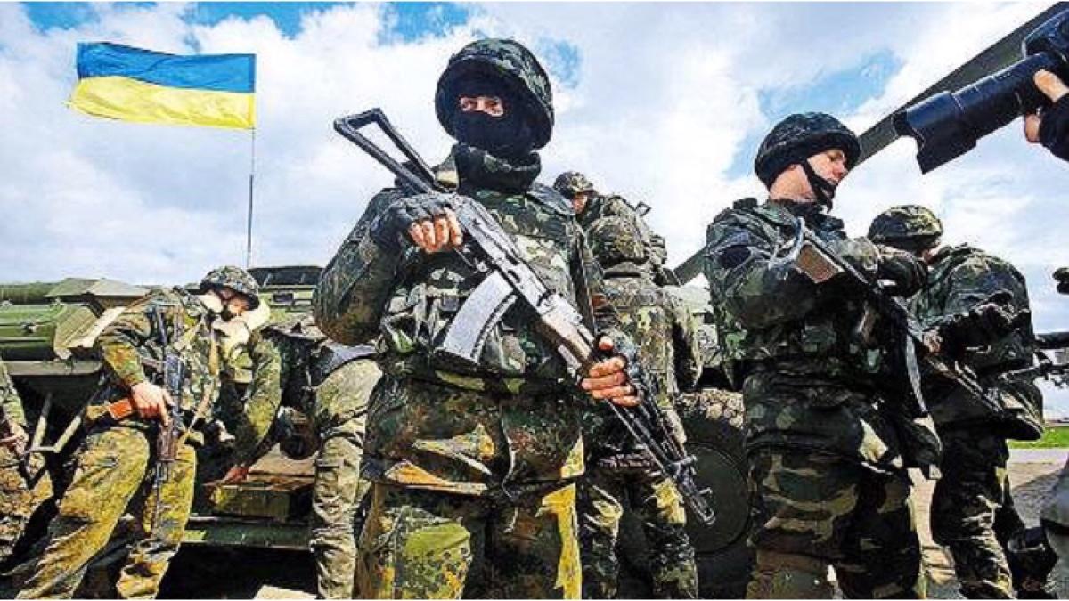 乌克兰军事武装力量宣传片!