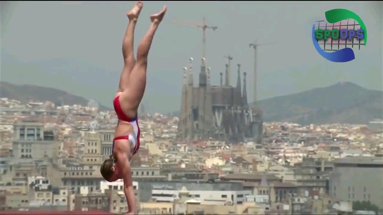 【女子跳水】高台入水前准备动作集锦