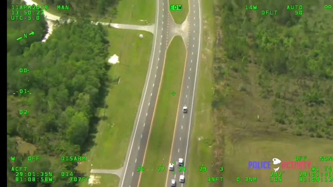 佛罗里达警方穷追不舍击毙武装劫车犯