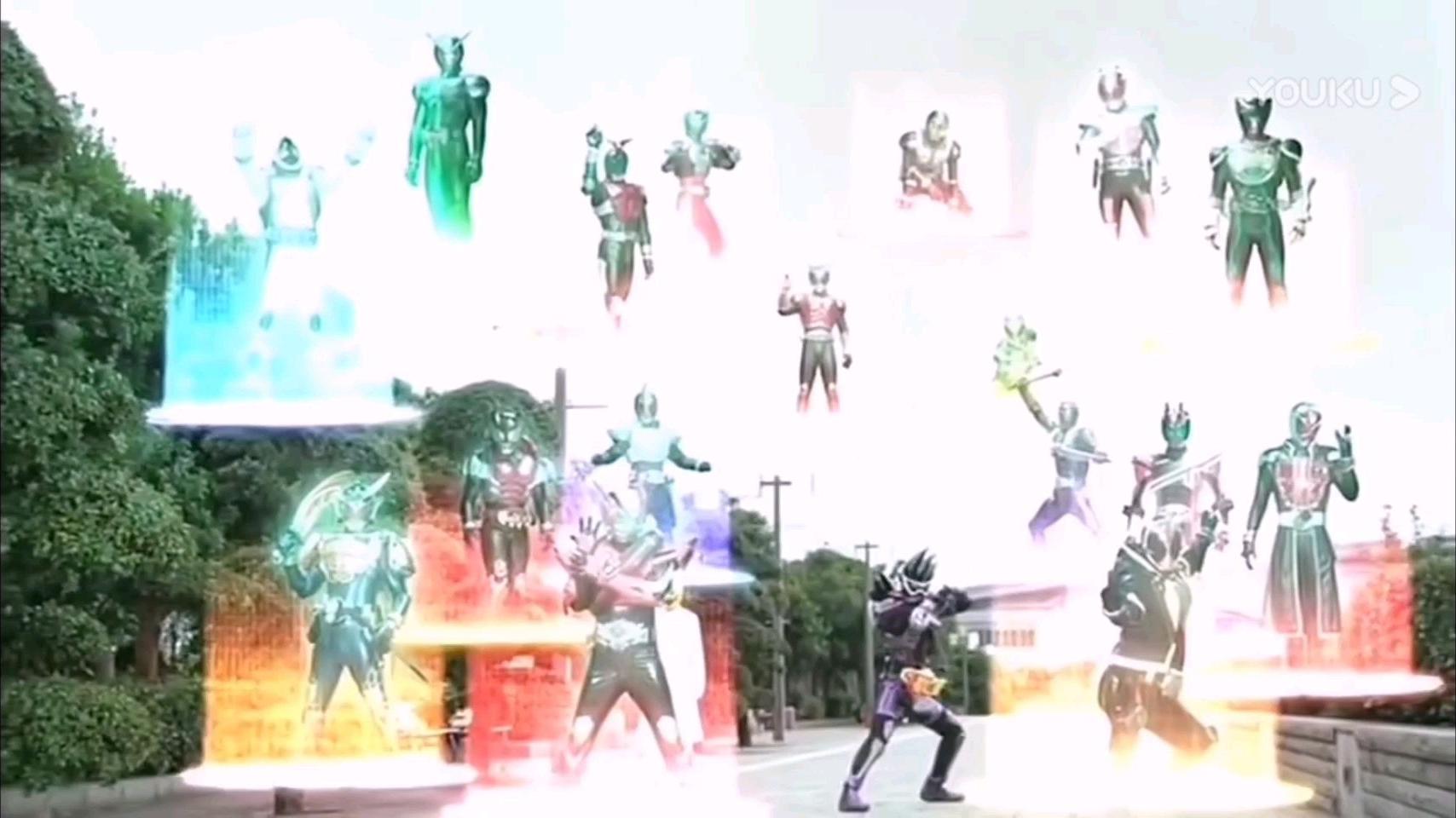 新平成假面骑士剧场版/外传   使用前辈骑士力量-后篇