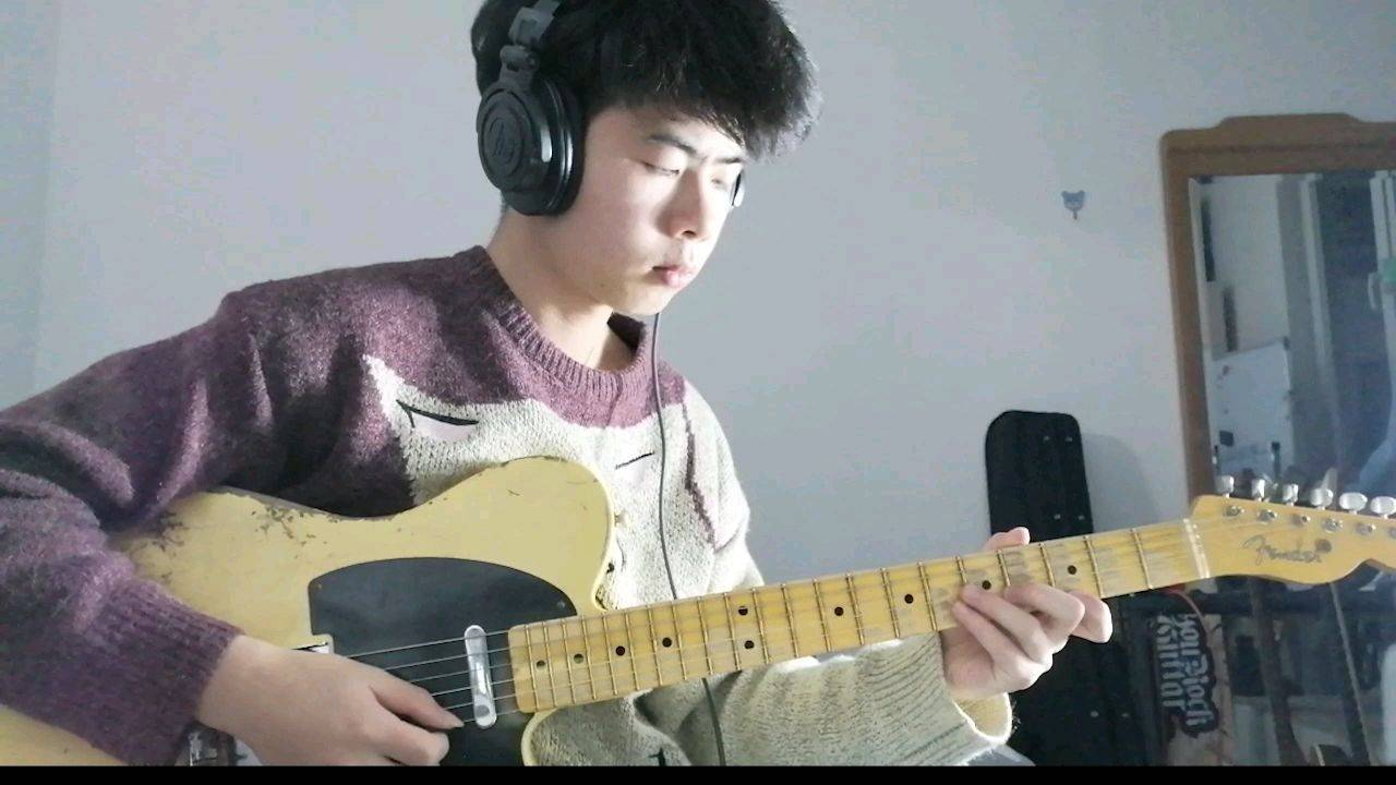 没有宅舞只能尬琴~《新宝岛》电吉他Cover!