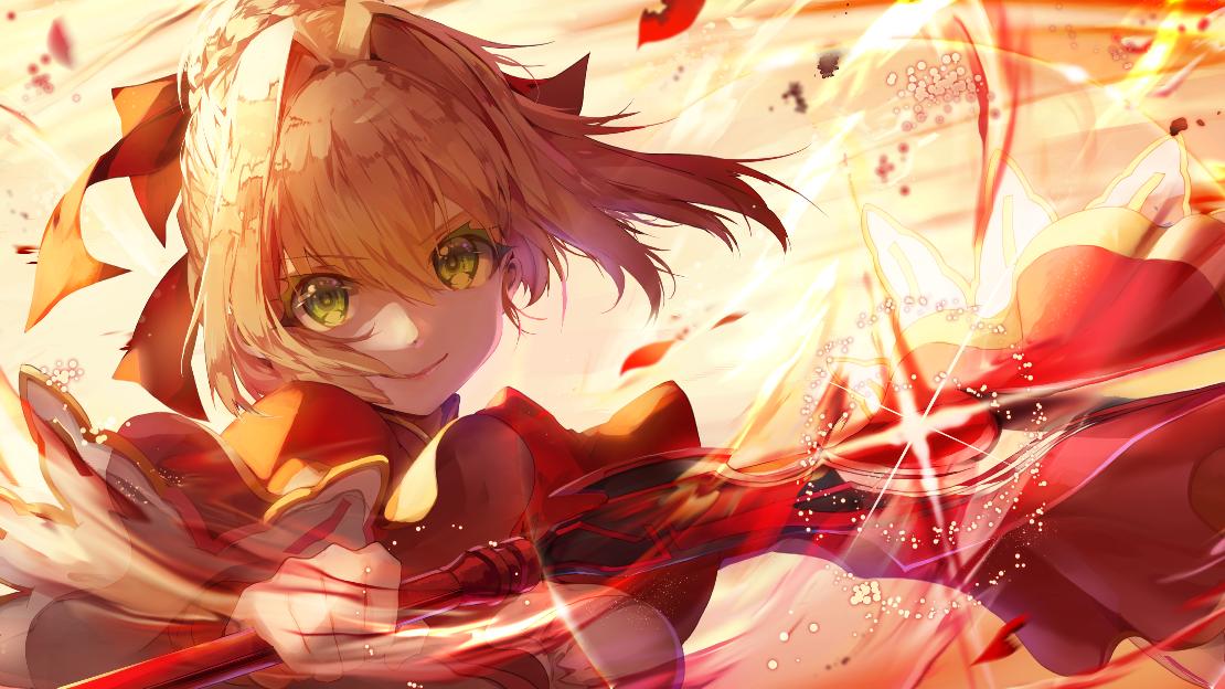 【fate/AMV/燃向】吾命与吾剑同在!
