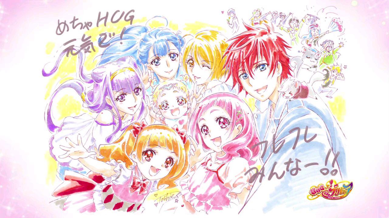 (雪飘)拥抱!光之美少女第49集