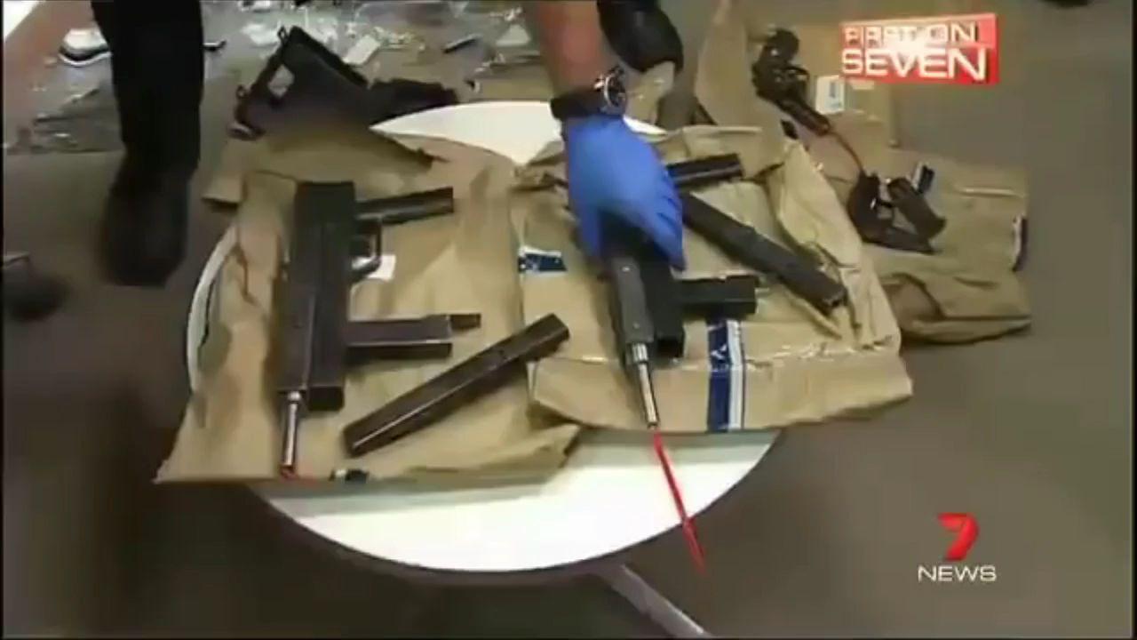 澳大利亚缴获土制冲锋枪射速极高