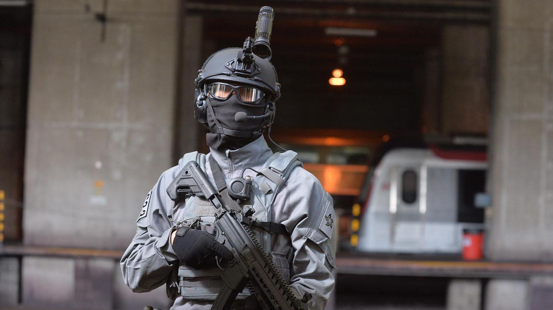 香港警方铁路应变部队RRT介绍