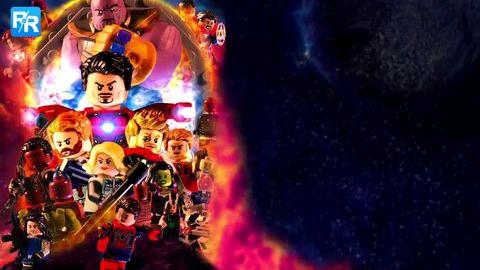 乐高版复仇者联盟3无限战争
