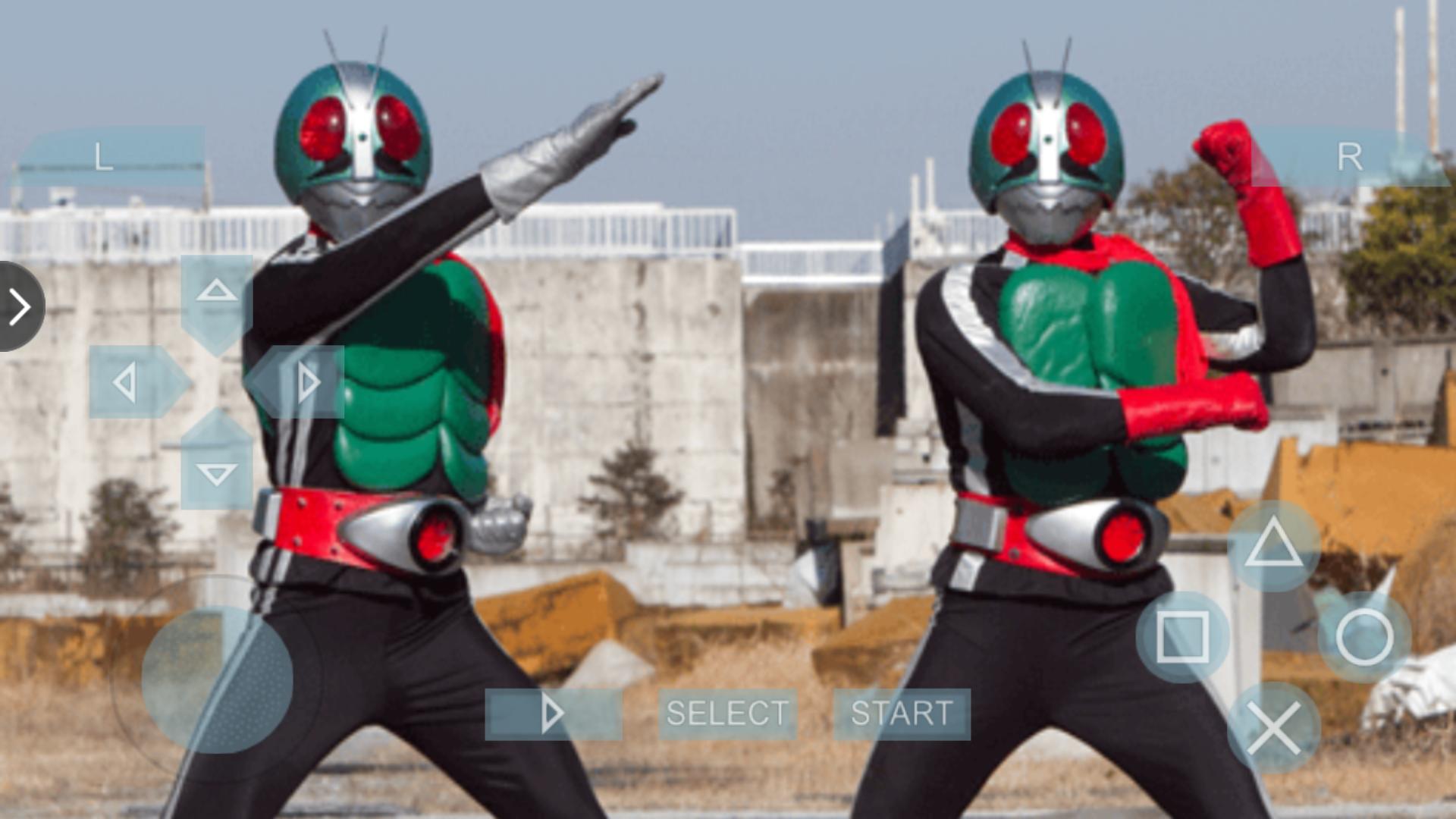 假面骑士超巅峰英雄:假面骑士篇(1号和2号)